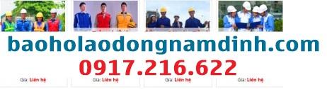 đồng phục quần áo bảo hộ lao động Nam Định