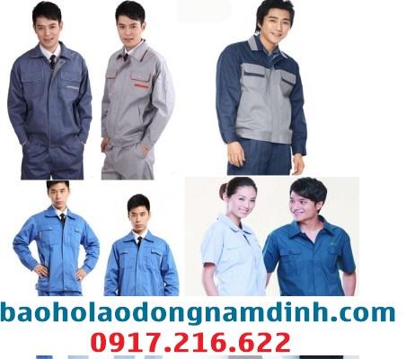 Bán đồng phục công nhân may sẵn tại Nam Định