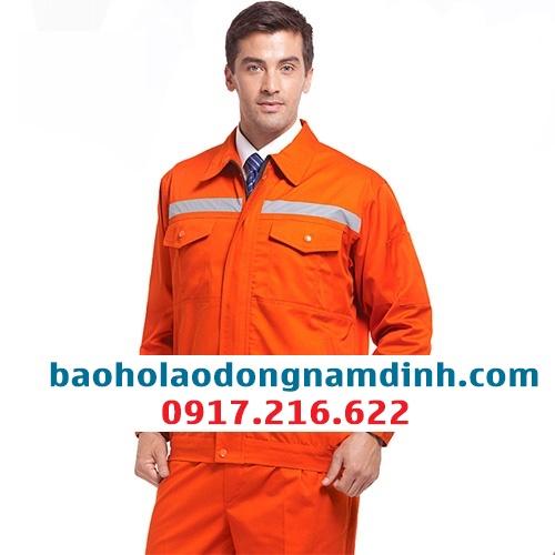 Đồng phục công nhân màu cam