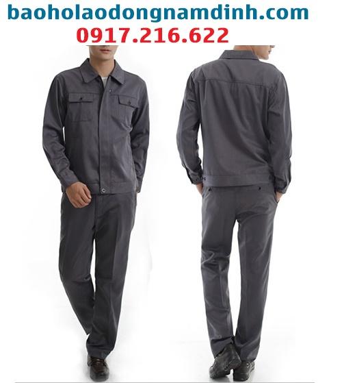 Mẫu quần áo bảo hộ lao động tại Nam Định
