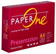 Giấy in A4 Paper One nhiều màu sắc có đủ các loại