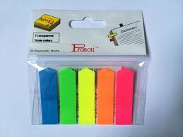 Phân trang nhựa 5 màu có đủ các loại 0912.677.982