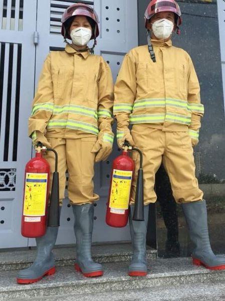QUần áo phòng cháy